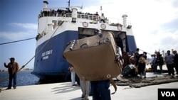 La Unión Europea se reúne esta semana para abordar la crisis de los refugiados libios.