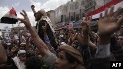 Yemen'de Anlaşma Gösterileri Durdurmadı