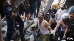 فلسطینی ها می گویند اسرائیل آتش بس را شکست