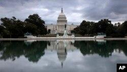 지난 27일 촬영된 미국 국회의사당 전경