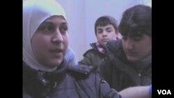 13-godišnja Sara je iz Homsa i kaže da je svugdje bilo krvi