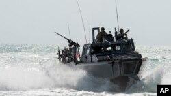 Američki patrolni brod u Persijskom zalivu
