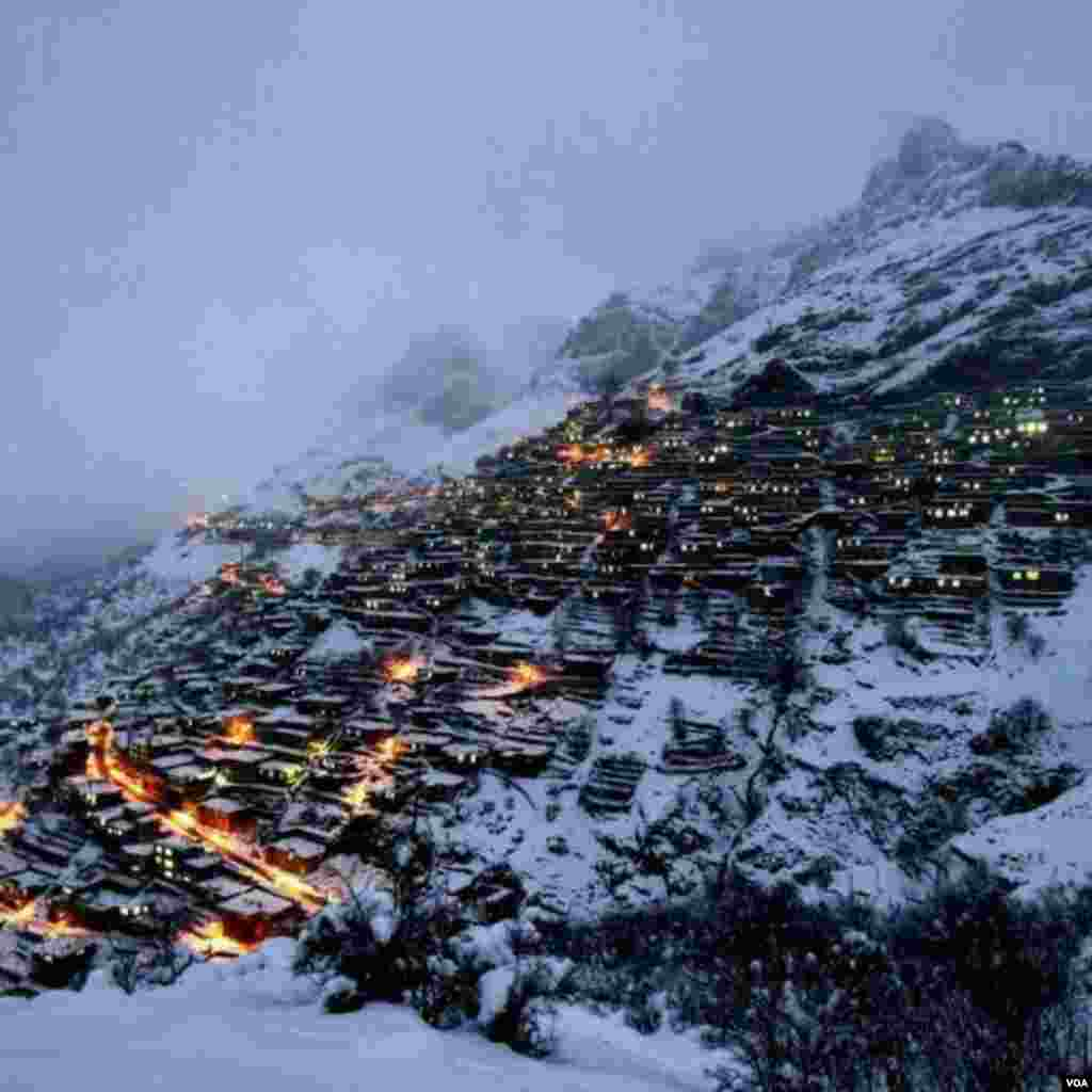 زمستان کردستان هورامان تخت عکس: سمیر (ارسالی شما)