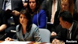 Ніккі Гейлі в ООН