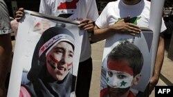 Demonstranti u Kairu izražavali su juče solidarnost sa antivladinim protestima u Siriji