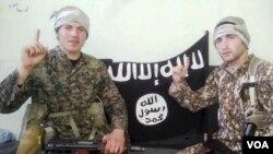 მუსლინ კუშტანაშვილი და რამზან ბაღაკაშვილი ISIS-ის რიგებში, 2015 წელი