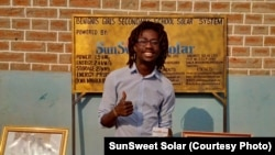 George Mtemahanji, co-founder of SunSweet Solar