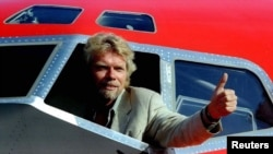 "Richard Branson, themeluesi i ""Virgin Atlantic Airways"""
