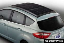 Ford says a sunlight concentrator on the roof could make the car practical for every day use.