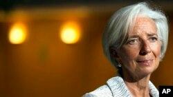 크리스틴 라가르드 IMF 총재 (자료사진)