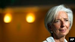 Giám đốc Quỹ Tiền tệ Quốc tế IMF Christine Lagarde.