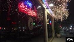 یک رستوران ایرانی در خیابان وست وود لس آنجلس