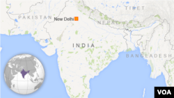 Peta wilayah India