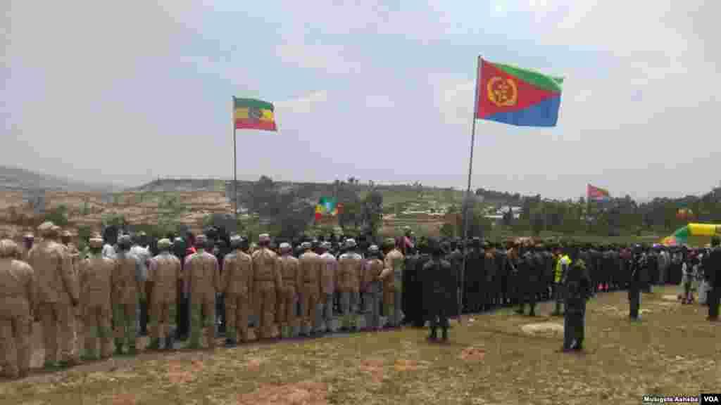 Cerimónia da abertura das fronteiras entre Etiópia e Eritreia