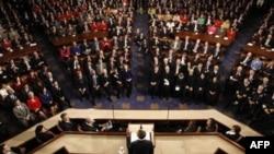 ABŞ prezidenti illik hesabat məruzəsi ilə çıxış etdi