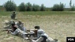 Pripadnici Lashkar-e-Taiba-e na vatrenoj liniji