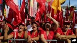 PT pede manifestações a favor de Lula da Silva