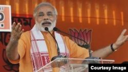 Lãnh tụ đối lập Ấn Ðộ Narendra Modi.