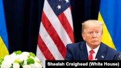 Le président américain, Donald J. Trump.