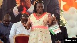 Bà Simone Ehivet Gbagbo, vợ của cựu tổng thống Laurent Gbagbo