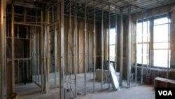 Sólo 529 mil viviendas nuevas se construirían este año en Estados Unidos si se continúa a ese ritmo hasta el fin de año.