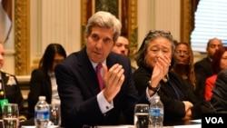 美国国务卿约翰·克里(资料照片)
