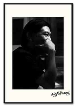 Nguyễn Xuân Hoàng (tháng 2/2006). Ảnh: Quỳnh Loan.