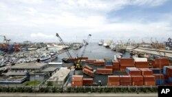 Suasana di Pelabuhan Tanjung Priok, Jakarta (Foto: dok).