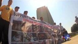 洛城华人呼吁奥巴马打击叙利亚
