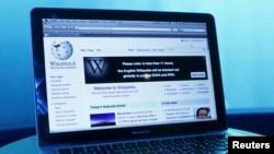 维基百科的主网页介面