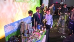 Middle-School Engineering Students Compete to Design City of the Future