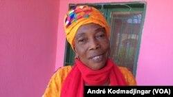 Bourkou Louise Ngaradoumri, présidente du parti le Rassemblement pour le Progrès et la Justice sociale, 9 décembre 2019. (VOA/André Kodmadjingar).