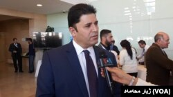 دیندار زێباری بهرپرسی كۆمیتهی ڕاپۆرتهنێودهوڵهتیهكان لهحكومهتی ههرێمی كوردستان