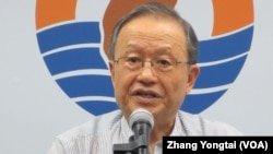 投資中國受害者協會理事長高為邦