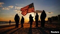 Нью-йоркчани вшановують пам'ять жертв урагану «Сенді»