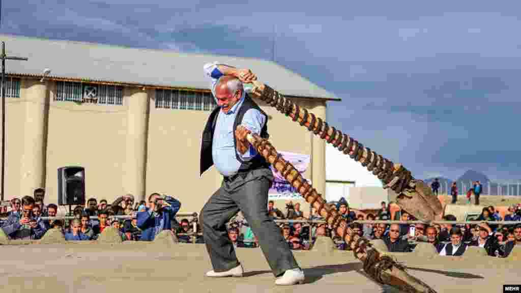 آئین سنتی بیل گردانی در شهرستان محلات استان مرکزی برگزار می شود. عکس آرش صحرانوردی، مهر