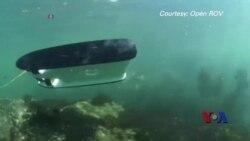 寻宝催生水下机器人