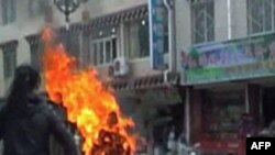 Một vụ tự thiêu ở Tây Tạng