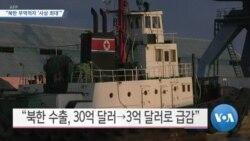 """[VOA 뉴스] """"북한 무역적자 '사상 최대'"""""""