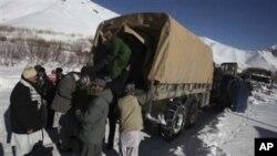 هلاکت چهارده نفر در نتیجۀ پائین شدن برفکوچ در افغانستان