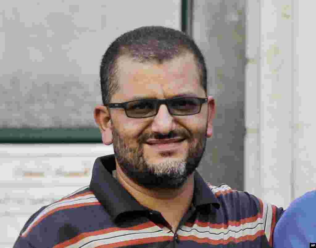 Ali Shehda Abu Afash, a Palestinian translator working with the Associated Press, was killed in an explosion in the Gaza Strip, Aug. 13, 2014.