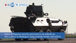 VOA60 Africa- West Africa's main political and economic block, ECOWAS, has imposed new sanctions on coup leaders in Guinea and Mali