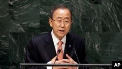 Tổng thư ký Ban Ki Moon một lần nữa nói việc cần có ngay một sự ứng phó quốc tế đối với những nhóm hiếu chiến như Nhà nước Hồi giáo.