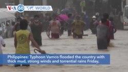 VOA60 Addunyaa - Philippines: Typhoon Vamco leaves at least 26 dead and 14 people missing