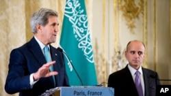Sakataren Harkokin Wajen Amurka John Kerry da takwaransa na Saudiya Adel al-Jubeir