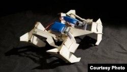 """Los """"origami"""" podrían ser los primeros prototipos de """"robots insectos"""" capaces de cargar muchas veces su propio peso."""