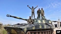 Сирийские военные захватили деревню Кфар-Набуда в провинции Хама