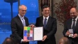歐盟領取諾貝爾和平獎