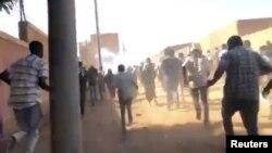 Manifestation à Omdurman au Soudan le 9 janvier 2019.