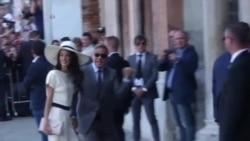 Clooney se casa por lo civil